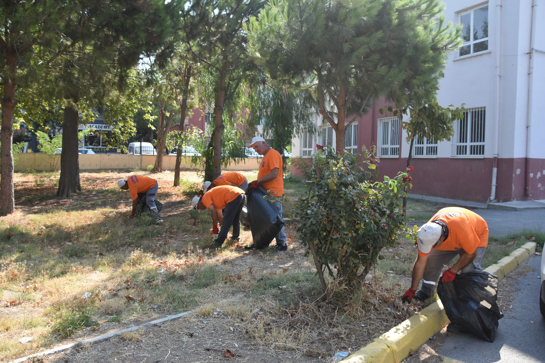 Eğitim kurumları Aliağa Belediyesi ile güzel kokmaya devam ediyor