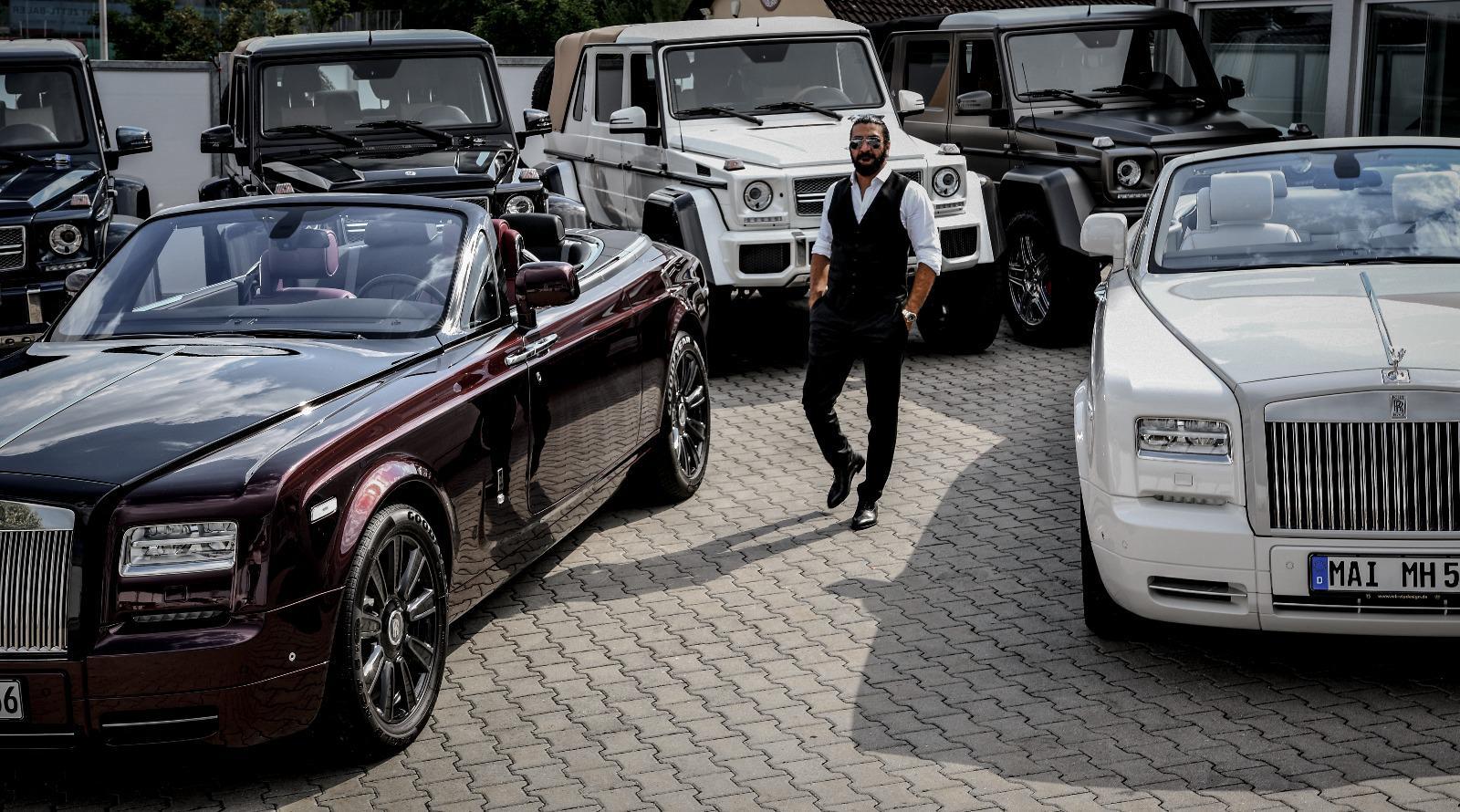 Mustafa Ali Akalın Almanya'nın yıldızlarına araba satıyor