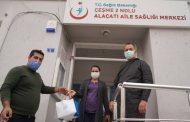 Başkan Oran sağlık çalışanlarını unutmadı