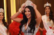 Gizem Şahin tacını yeni kraliçe Miss Belçika Phaedra Declercq devretti.