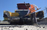 Aliağa'da yaz döneminde toplam 14 bin 620 ton asfalt atıldı