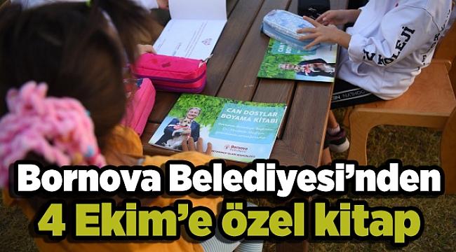 Bornova Belediyesi'nden 4 Ekim'e özel kitap