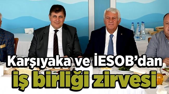 Karşıyaka ve İESOB'dan iş birliği zirvesi